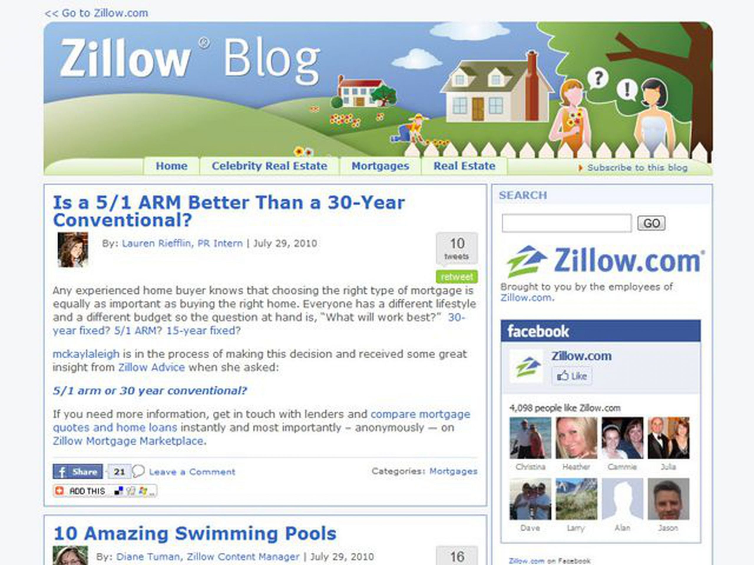 Zillow: Provide Valuable Insights on Your Area of Expertise