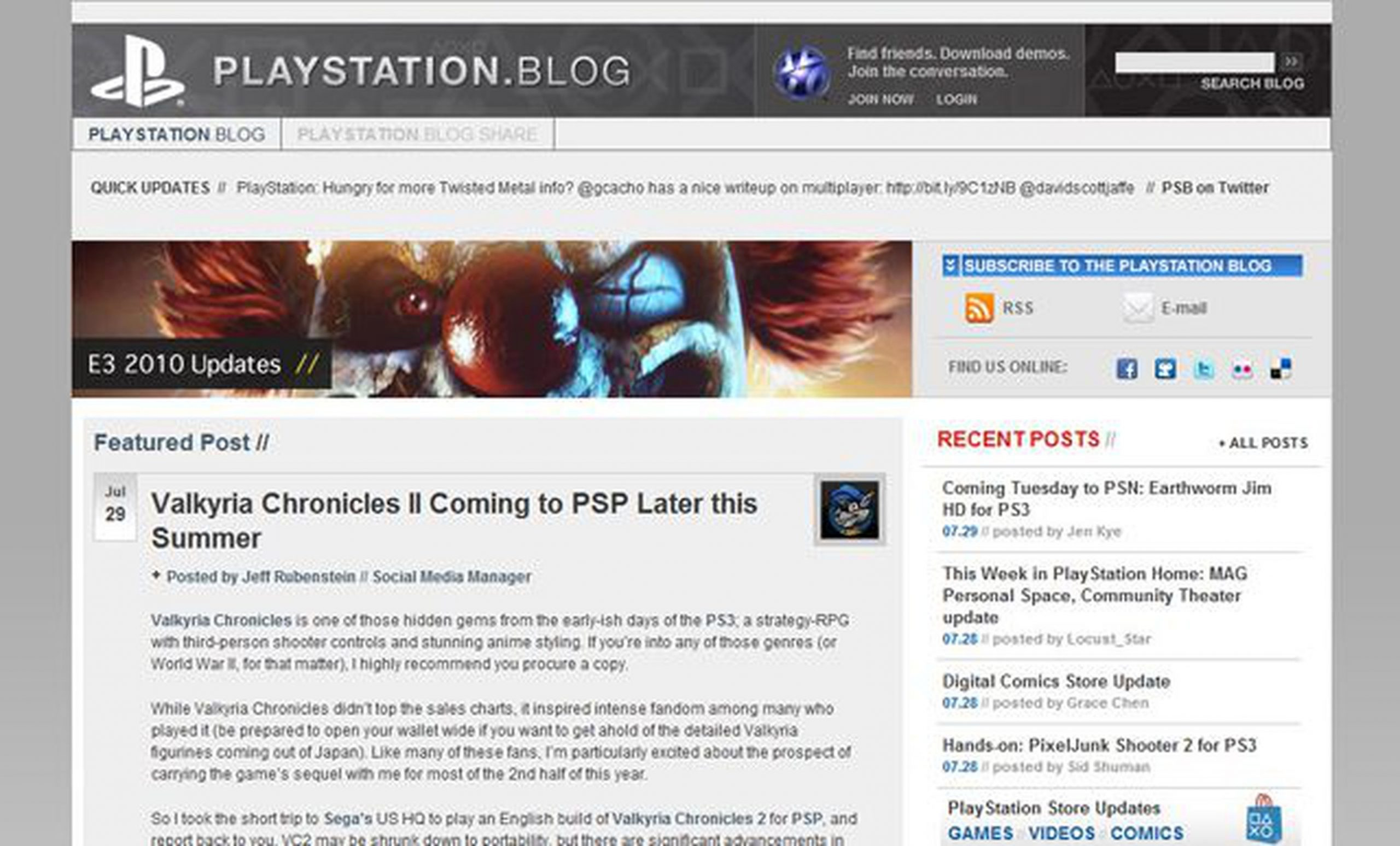 PlayStation.Blog: Get Ideas From Your Fans