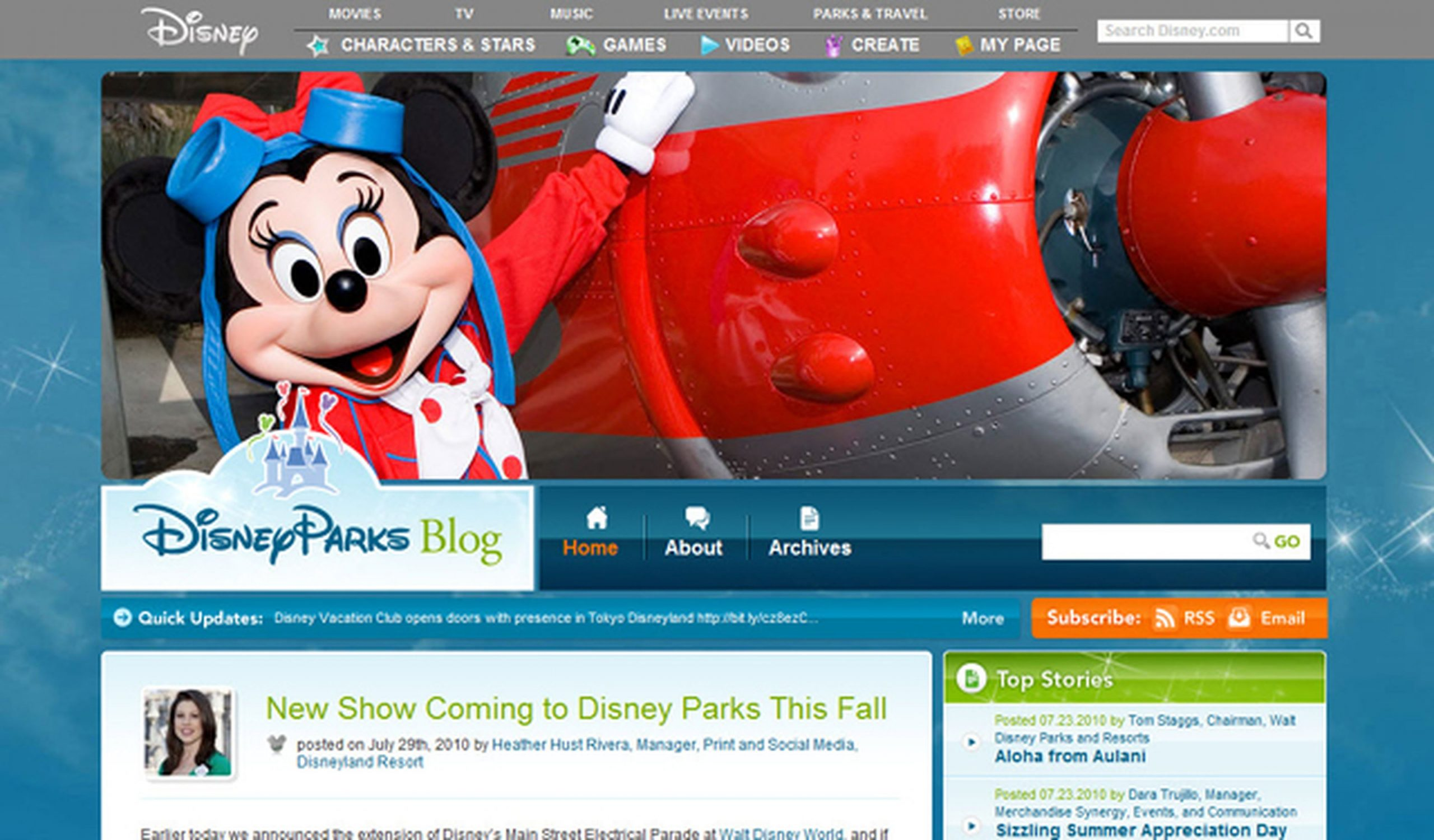 Disney Parks: Take Your Fans Behind the Scenes