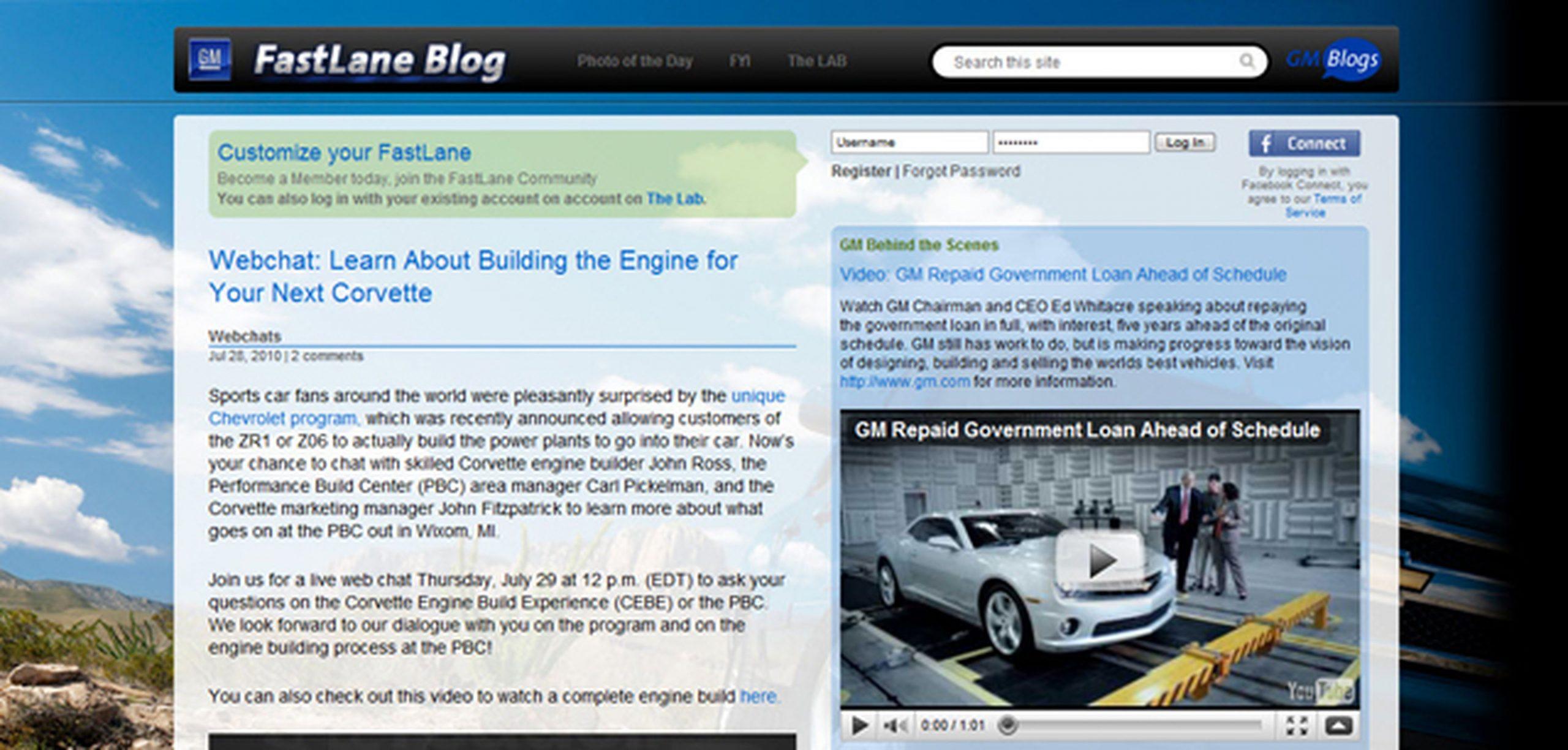 GM FastLane Blog: Keep a Focus