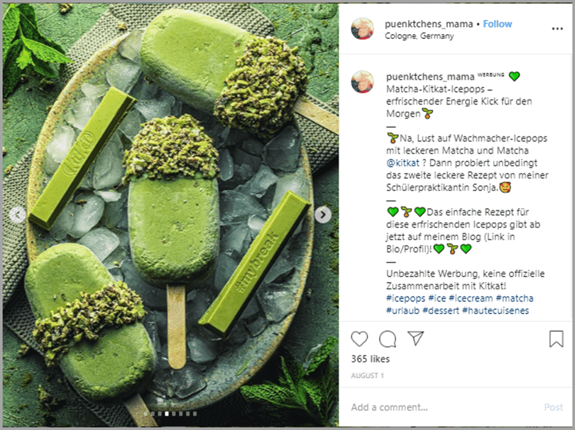 User-generated content (UGC) beats sponsored posts