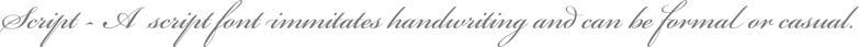 Script Brand & Logo