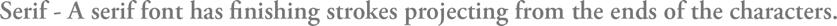 Serif Brand & Logo
