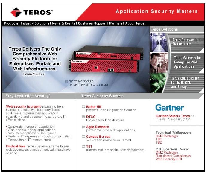 Teros Website